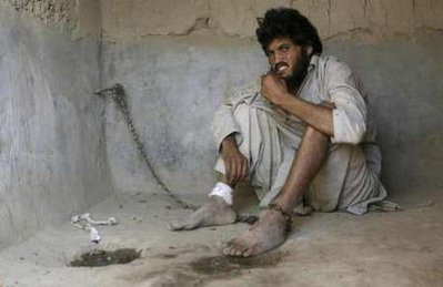 Afghan mental patient