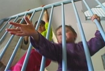 Children in Badam Bagh Prison
