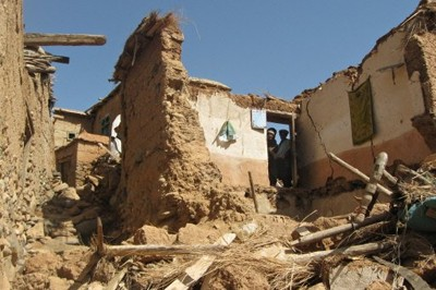 Quake destruction in Eastern Afghanistan