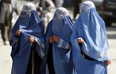 Afghan Women Burqa