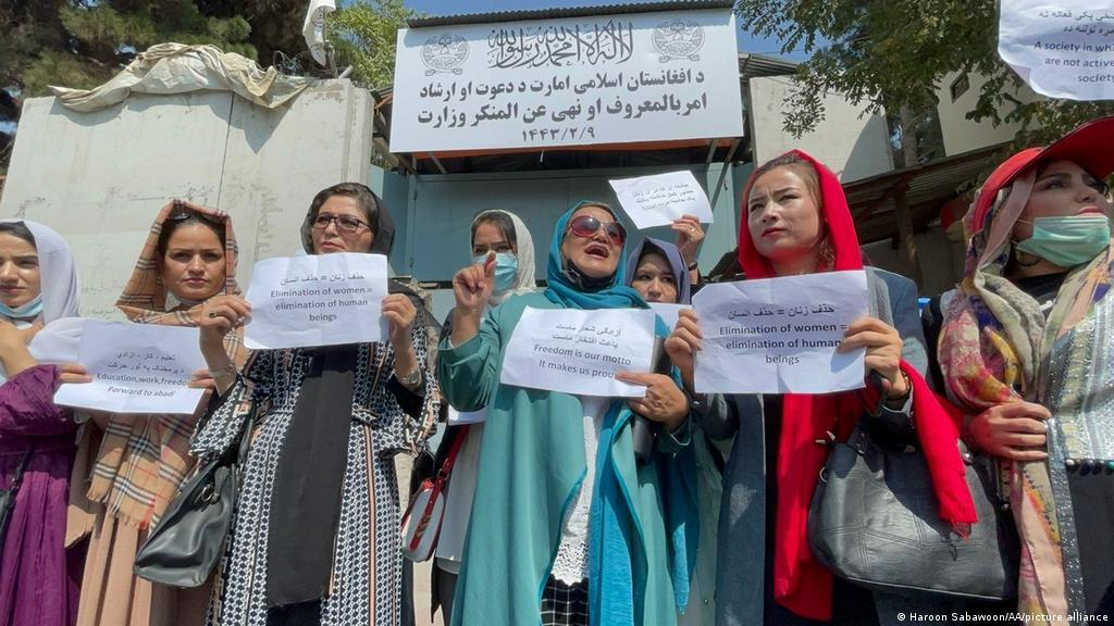 afghanw women demand on protest