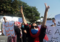 Taliban Fighters Crush a Women's Protest Amid Flickers of Resistance