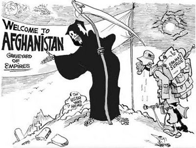 Afghanistan is the graveyard of empires