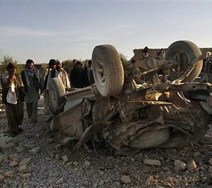 Site of Kandahar bomb blast