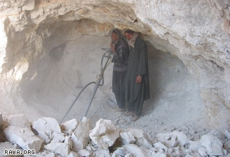 Illegal mining continues across Afghanistan