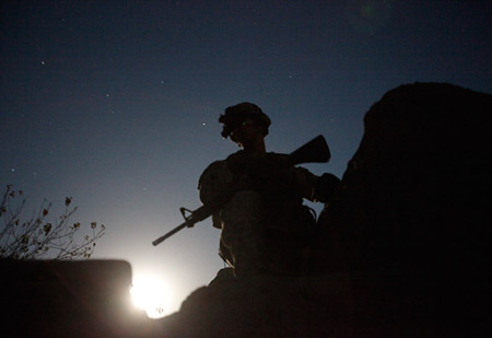 Night raids in afghanistan