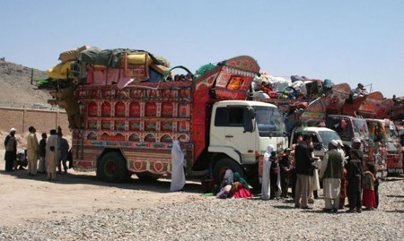 Afghanistan returnees arrive across neighboring countries