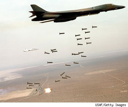 In Afghanistan US airstrikes have gone up