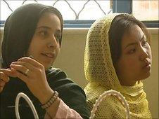 Girls in Afghan prison