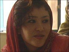 Soraya in Afghan prison in Kabul