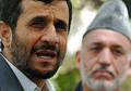 Afghans See Karzai, Iran Hands in Poll