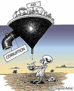 Aid and corruption
