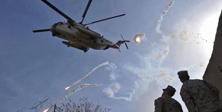 NATO airstrike killed Afghan police
