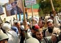 Protestors accuse MP of grabbing their land