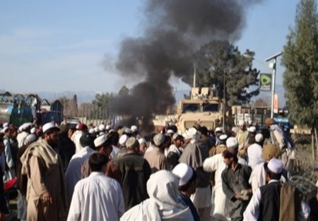 Anti-US protest in Khost