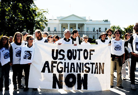 Anti war protest in Washington DC