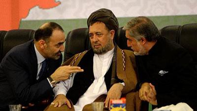 Atta Mohammad, Mohammad Mohaqiq and Abdullah Abdullah