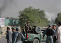 Taliban Strike Near Presidential Palace Inside Kabul