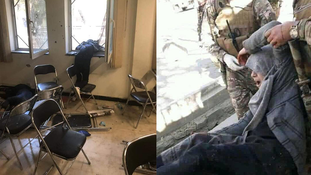 Attack on Kabul university by ISIS