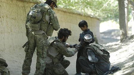 Australian Special Forces soldiers in Afghanistan