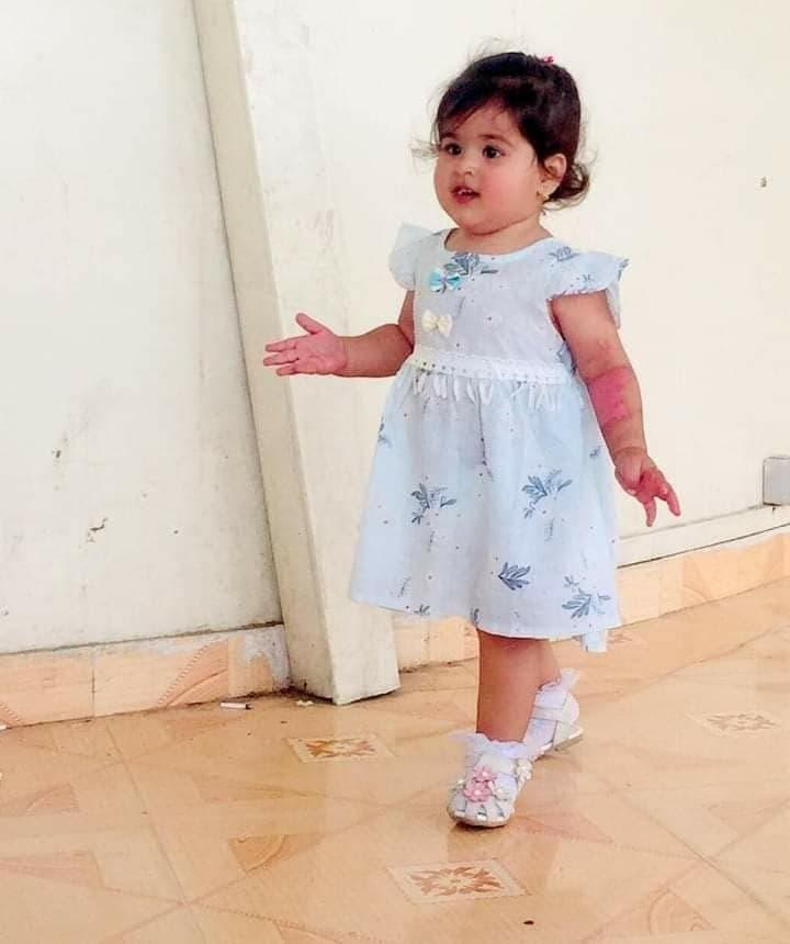 2 years old girl among the victims