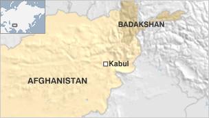 Badakhshan map