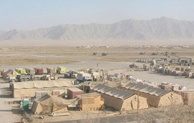 Bagram Airbase in Kabul