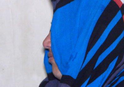 Bas Gul gang rape victim in Bamyan province Afghanistan