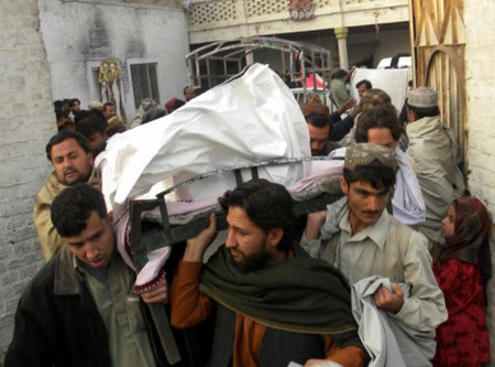 Blat in a bathhouse in Kandahar on killed 17 people