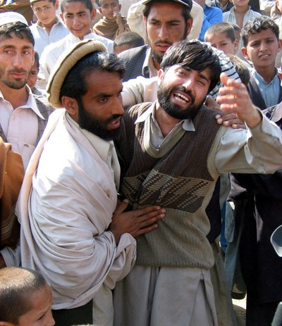 The brother of an Afghan man who was killed by US military