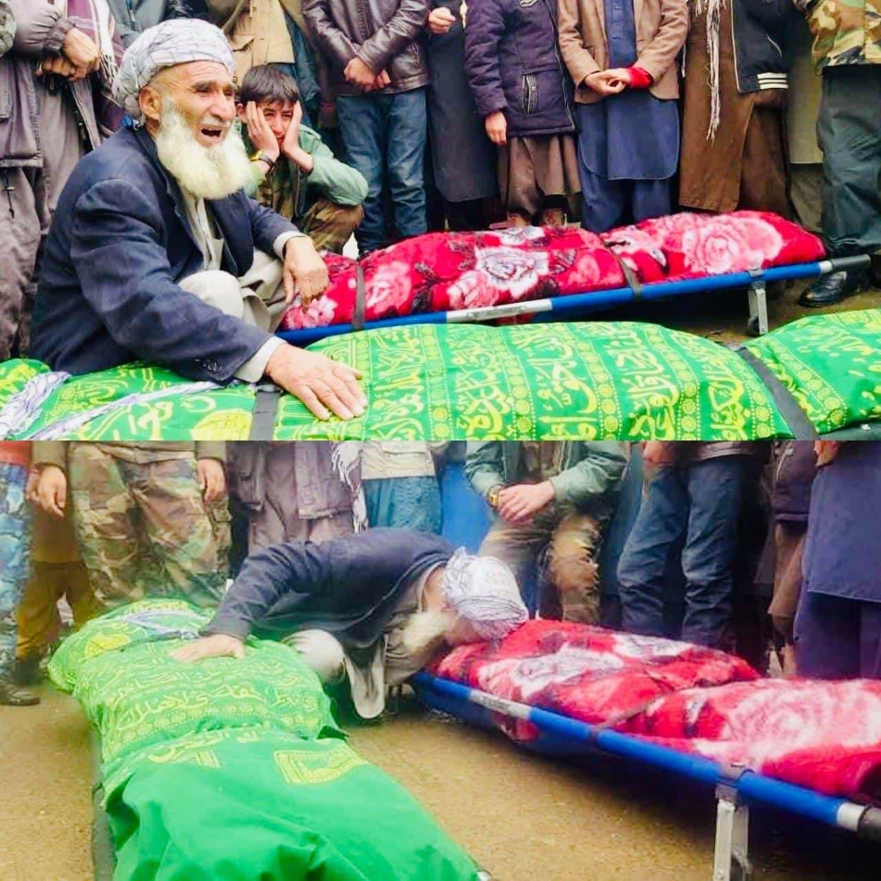 bismillah Adel's family shot death by gunmen