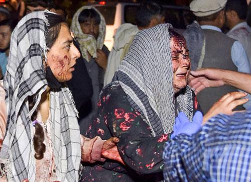 Blast in Kabul Airport