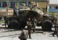Suicide car bomb kills 5, wounds 35 in Kabul