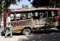 Five women, child killed in Afghan bus bombing