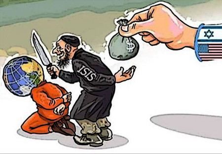 Image result for Daesh CIA CARTOON