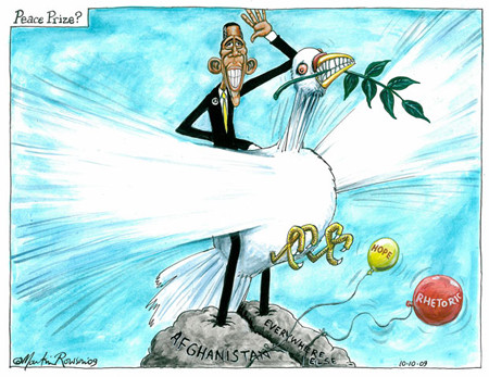 Obama's Peace Prize