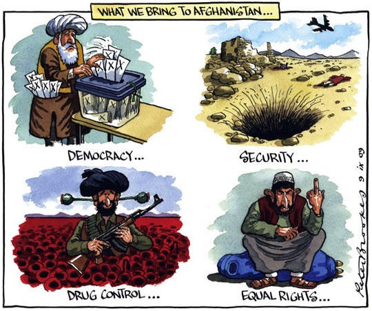 Cartoon by Peter Brookes
