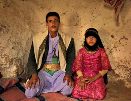 Child bride in Afghansitan