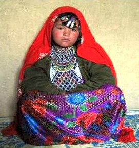 Afghan 8-year old child bride