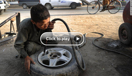 Child labor in Kabul, Afghanistan