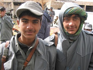 Afghan children have been recruiting in army