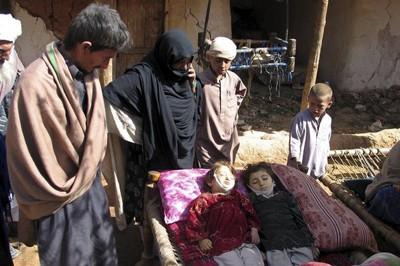 Children dead in quake in Eastern Afghanistan