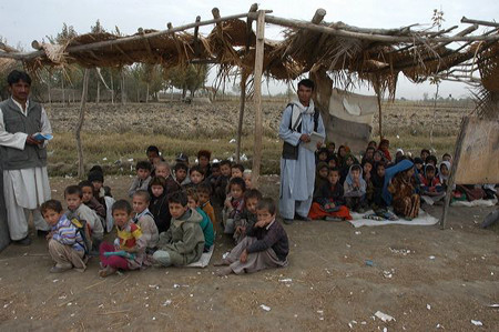 A school in Afghanistan