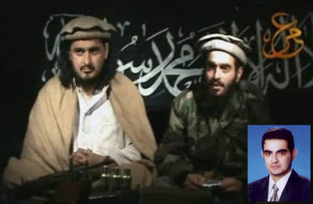 Taliban leader with Human Khalil