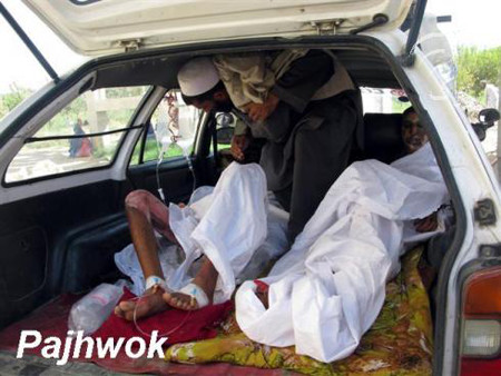NATO-led troops shot dead three civilians in central Maidan Wardak province, an Afghan official said on Thursday