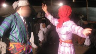 Afghan dancing boys, a common practice among Afghan warlords