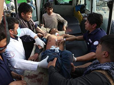 Man injured in Dashte Barchi blast on course August 2018