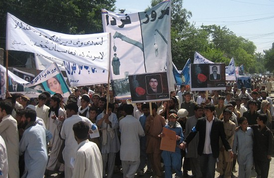 Protest of Afghans in Jalalabad