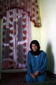 Nafisa, a disabled woman
