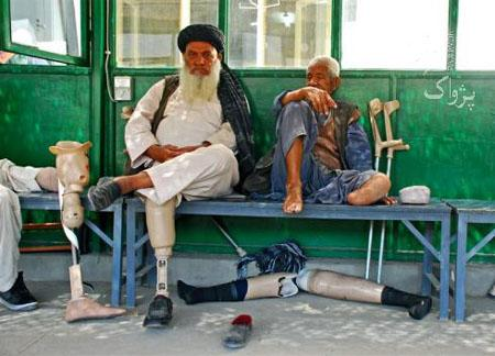 Afghanistan's long conflict has left countless disabled